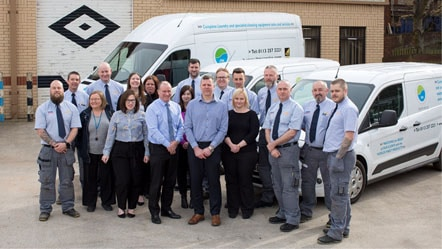 Awarding winning commercial laundry rentals and services team of repair specialists based in Leeds.