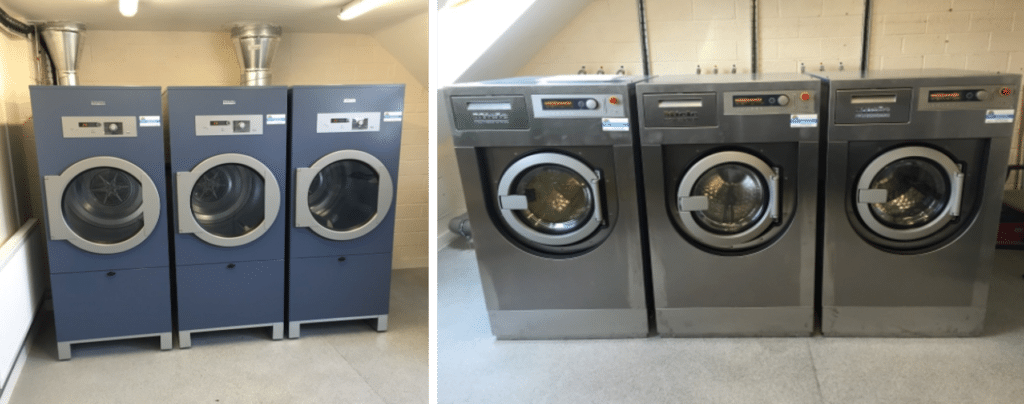Miele commercial washing machines and dryers