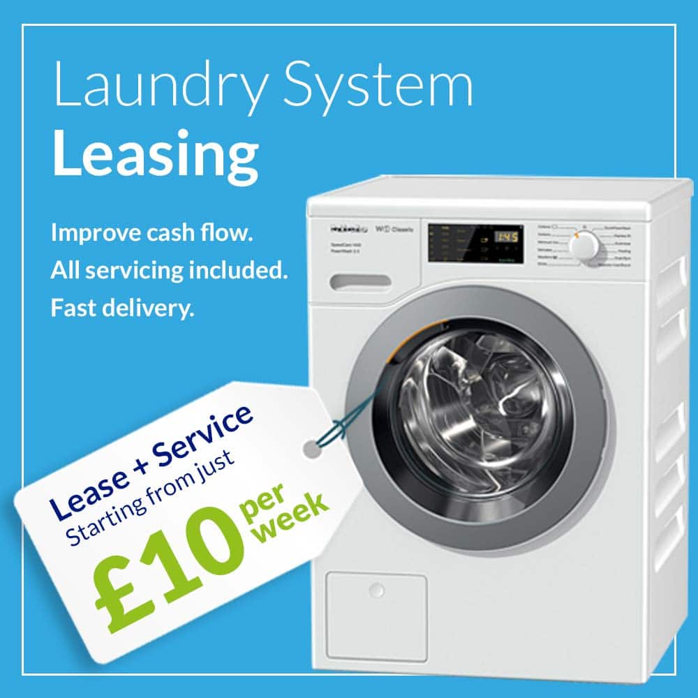 Commercial laundry equipment to lease cheap