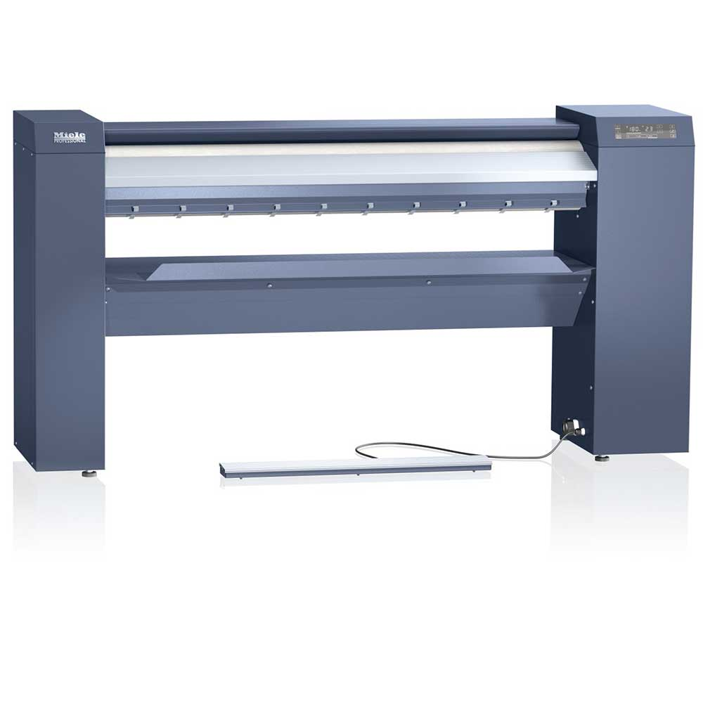 Miele commercial flatwork ironer suitable for B&B's, care homes and NHS, hospitals