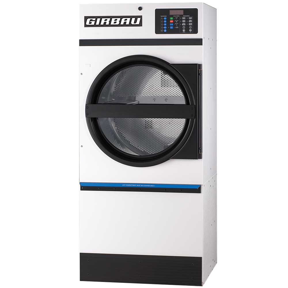 Girbau commercial tumble dryer suitable for care homes, NHS and nursing homes