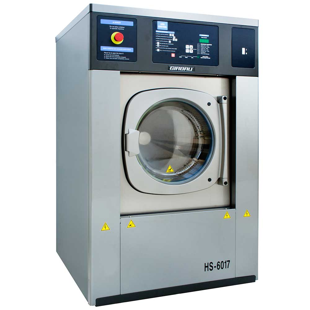 Girbau commercial washing machine suitable for care homes, NHS and nursing homes.