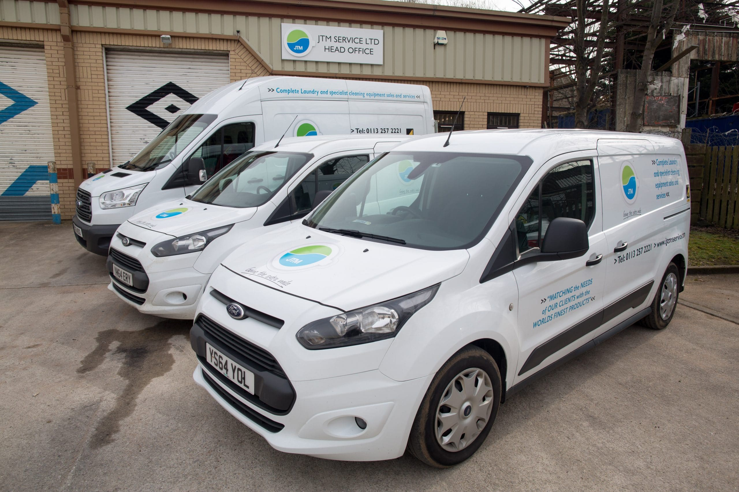 JTM Leeds based commercial laundry rentals and servicing