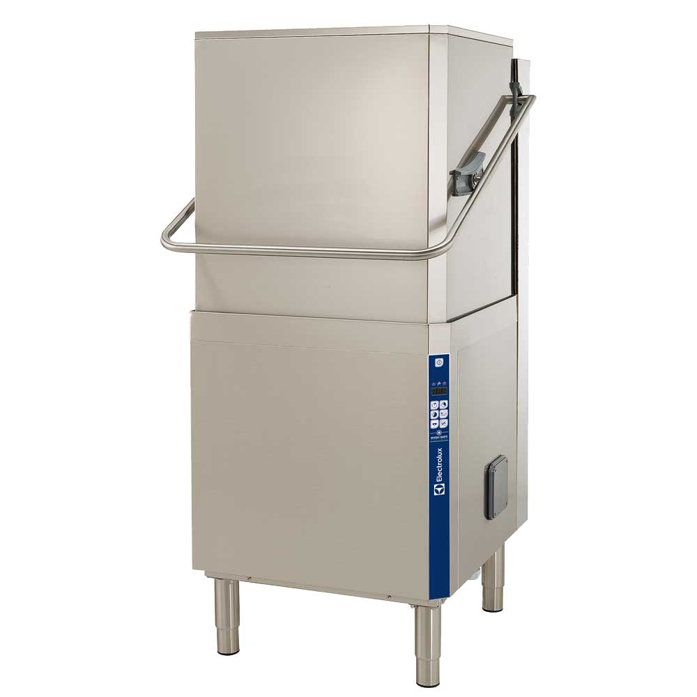 Electrolux commercial dishwasher suitable for care homes, hospitality and offices.