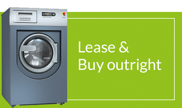 Lease and buy outright commercial washing machines, dryers and dishwashers.