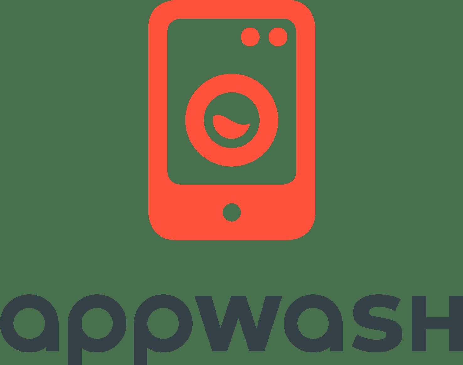 Miele AppWash Logo ohne Subline Coral RGB