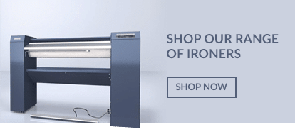 Buy or lease Flat commercial ironers suitable for B&B's, care homes and NHS, hospitals