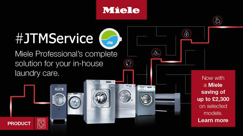 Up to 12% off on Selected Miele Professional Laundry Equipment 1