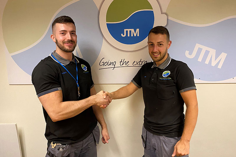 Welcome to the JTM Service Team! 1